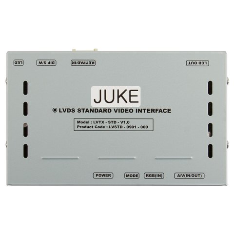 Відеоінтерфейс для Nissan Juke Прев'ю 1
