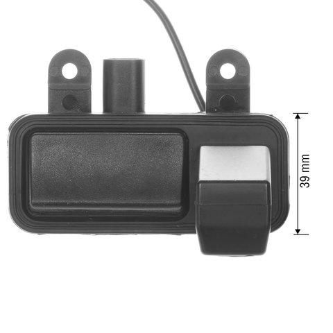 Камера заднего вида в ручку багажника для Mercedes-Benz B-класса 2013-2014 г.в. Превью 3