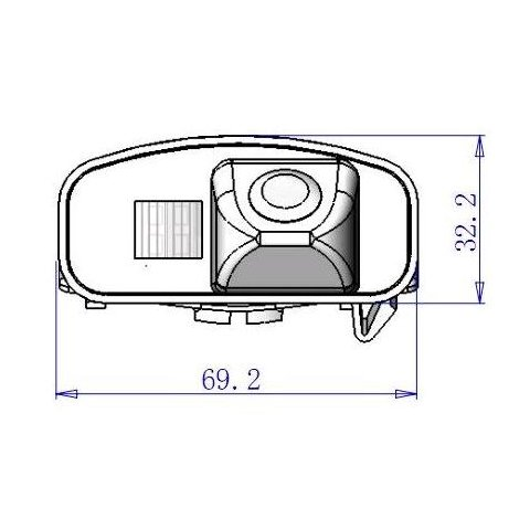 Car Rear View Camera for Honda CR-V Preview 3
