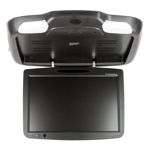 """19"""" Flip Down  Monitor with DVD Player (Black) Preview 2"""