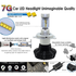 Car LED Headlamp Kit UP-7HL-H4W-4000Lm (H4, 4000 lm, cold white) - Preview 2