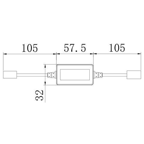 Адаптер CAN-шины для предотвращения ошибок ламп головного света UP-DE-H11