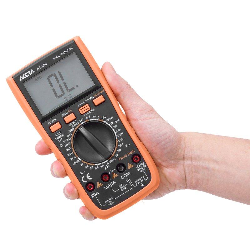 Цифровий мультиметр Accta AT-280 Зображення 9