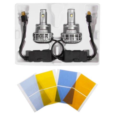 Набір світлодіодного головного світла UP-6HL (H7, 3000 лм, сумісний з CAN-шиною) Прев'ю 1