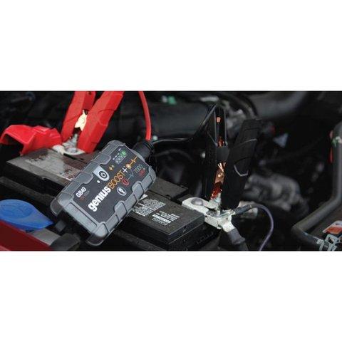 Пускозарядний пристрій для автомобільного акумулятора GB40