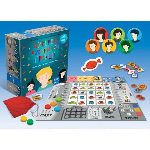 Настольная игра Granna Конфеты, перчатки, деньги - /*Photo|product*/