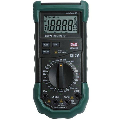 Digital Multimeter MASTECH MS8265 Preview 1