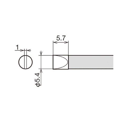 Soldering Iron Tip GOOT RX-80HRT-5.4D Preview 1